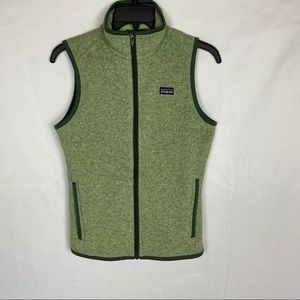 Patagonia Better Sweater Vest in Green